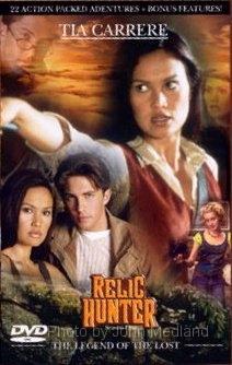 Relic Hunter Dvd Cover By John Medland
